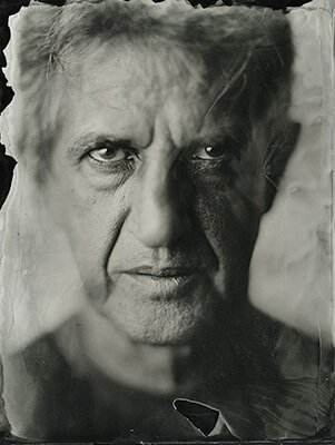 Picture of Tiberiu wet plate collodion photography ambrotype